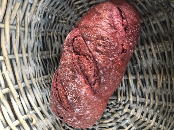 Beetroot Sourdough Loaf