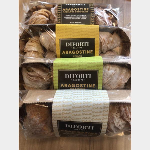 Diforti Italian Aragostine Pastries