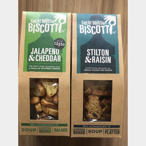 Great British Biscotti crackers