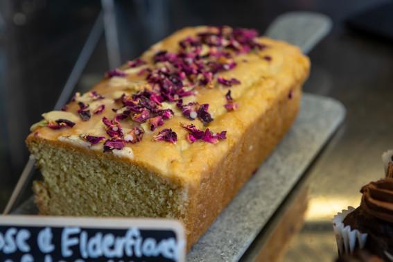 Slice of Loaf Cake