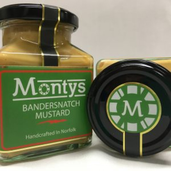 Monty's Mustard    Bandersnach Mustard