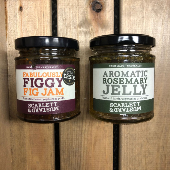 Scarlett and Mustard: Jam and Jelly |  Rosemary Jelly