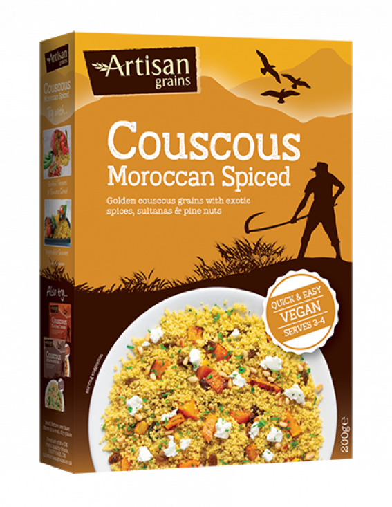 Moroccan Spiced Cous Cous