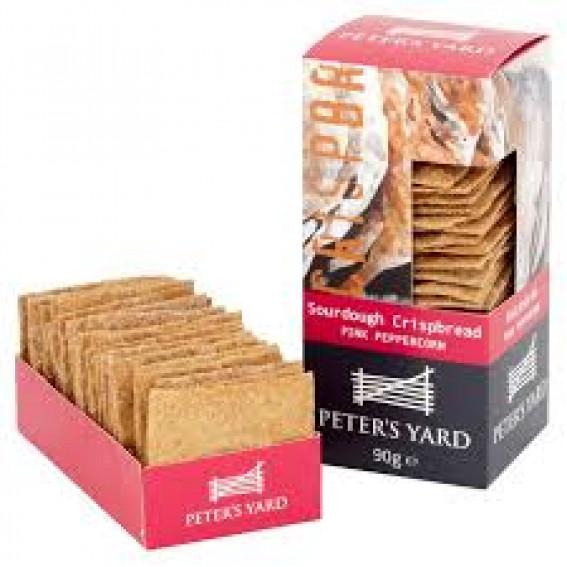 Peter's Yard Pink Peppercorn Crackers