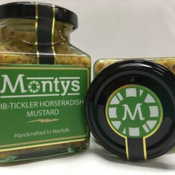 Monty's Mustard |  Rib-Tickler Horseradish Mustard