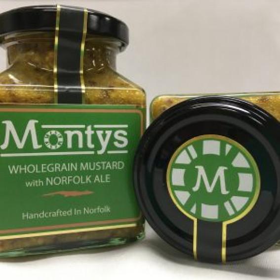Monty's Mustard | Wholegrain and Norfolk Ale