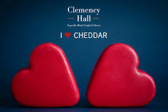 Heart Shaped Cheddar