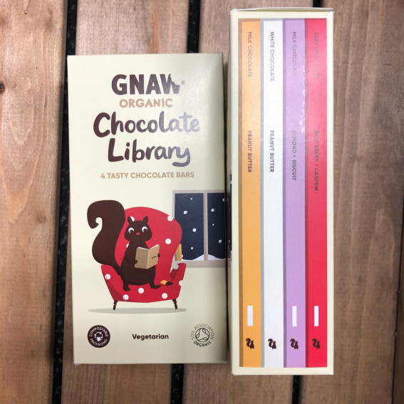 Gnaw Organic Chocolate Library