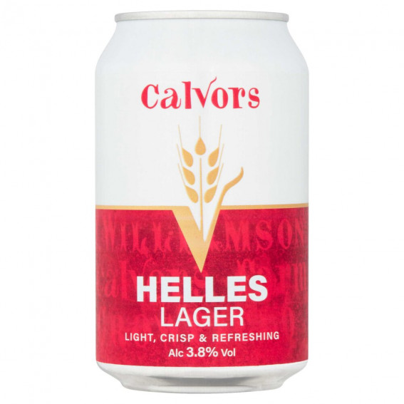 Calvors Helles Larger 3.8% 330ml