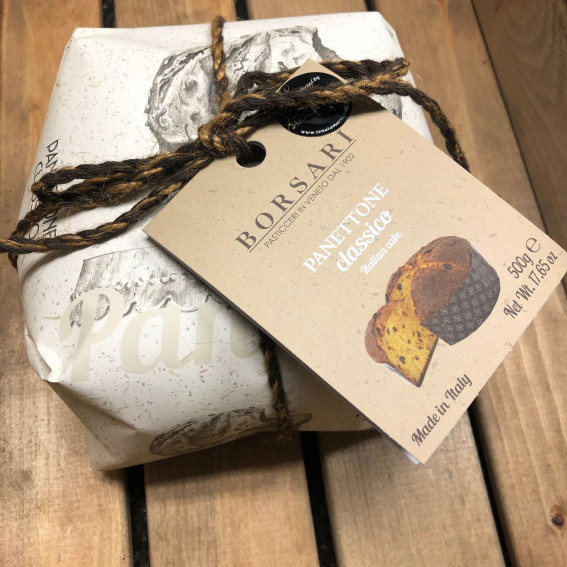 Handwrapped Classic Panettone