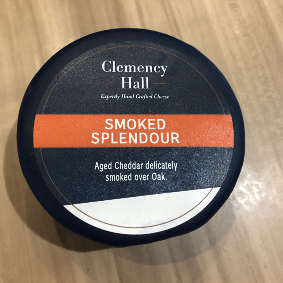 Clemency Hall Smoked Splendour Cheddar Truckle 200g