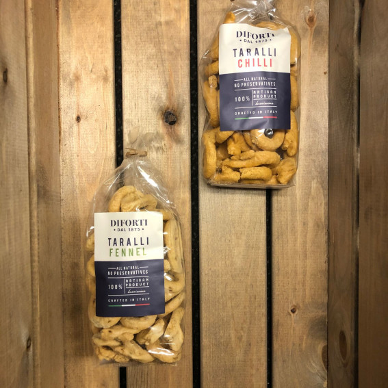 Taralli with Chilli or Fennel
