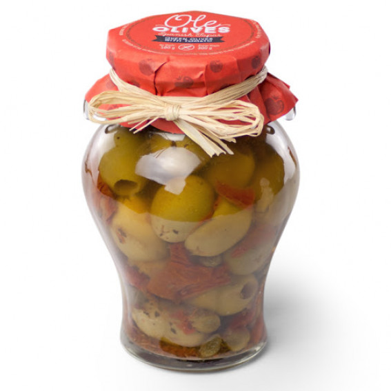 Tomato Stuffed Olives Gordal