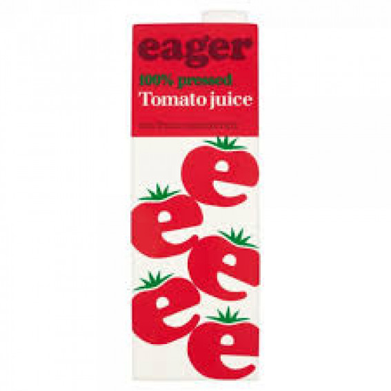 Eager Tomato Juice 1ltr